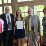 Garner Endowed Scholarship Awarded to St. Mary's Ryken Senior Stephanie Schindler