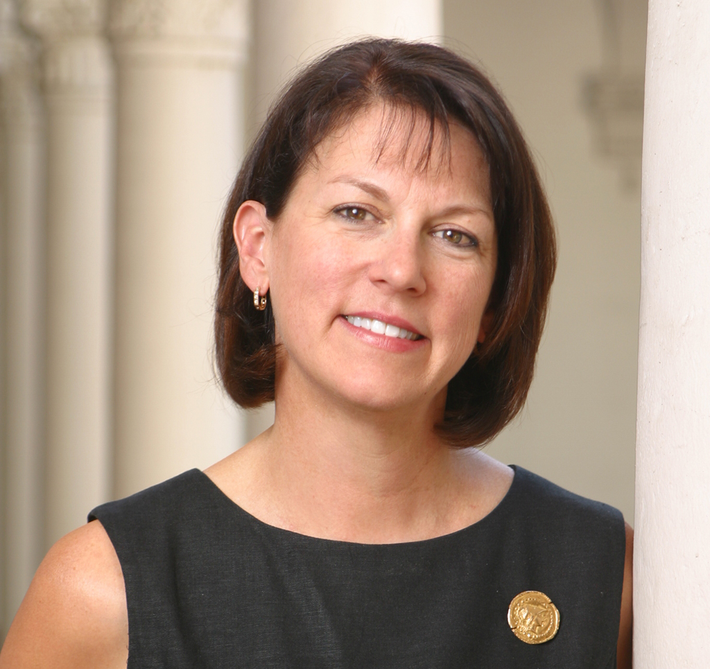 Patricia Goldsmith, new St. Mary's College of Maryland's vice president and dean of admissions and financial aid