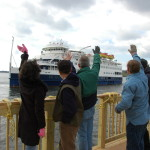 Cruise Ship, Temporary Home to SMCM Students, Heads Back to Sea