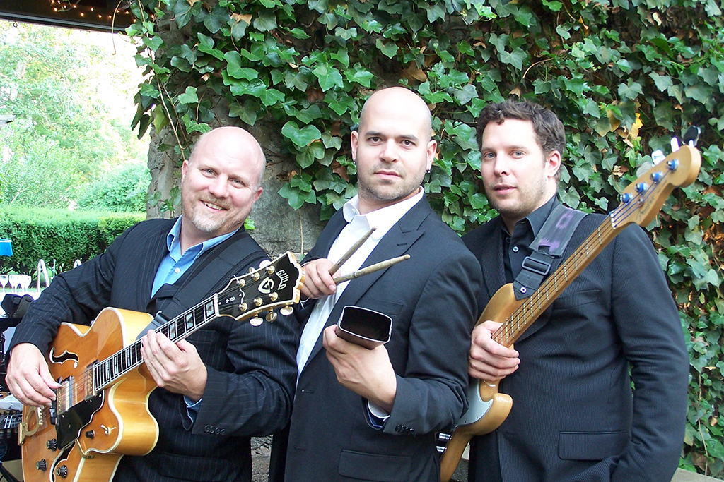 The Sabor Trio: (left to right) Peter Richardson, Brian Caputo, and Darrell Muller