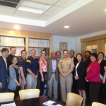 Vice Admiral David Dunaway Visits St. Mary's College