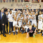 St. Mary's College Men's Basketball Team Wins CAC Title