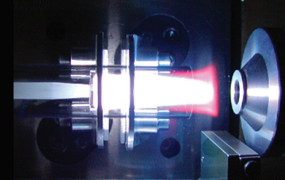 Image of the plasma laser