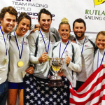 Three Alumni Sailors Help Lead USA Team to Gold in World Championship