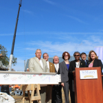 Anne Arundel Hall Topping Out Ceremony