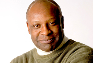 Guest artist and resident Tyrone Wilson