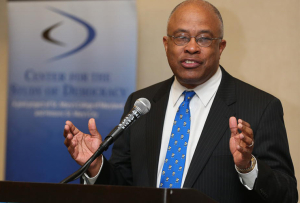 Kurt L. Schmoke, president, University of Baltimore, former Mayor, City of Baltimore