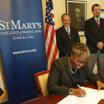 St. Mary's College/Aruba Ministry of Education Sign Articulation Agreement
