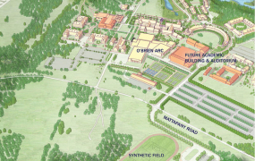 St. Mary's College of Maryland Completes Building Campaign and Names Athletic Stadium Complex