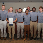 Men's Rugby team receives proclamation from St. Mary's County commissioners