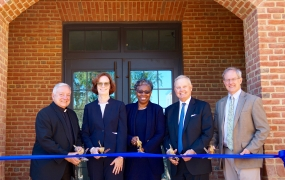 Newly Dedicated Anne Arundel Hall Reinforces Connection between  St. Mary's College and Historic St. Mary's City