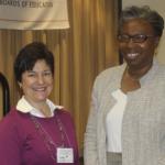 Dr. Tuajuanda Jordan speaks at the Maryland Association of Boards of Education