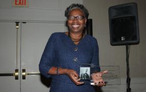 Dr. Jordan Receives Talented Tenth Award from Alma Mater