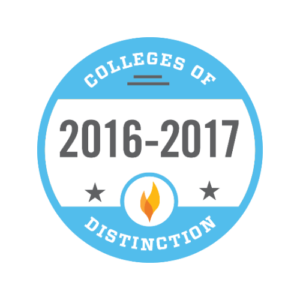 College of Distinction badge 2016-2017