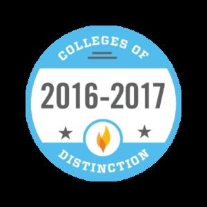 College of Distinction badge 2016-2017