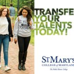 Transfer Days Continue at St. Mary's College of Maryland