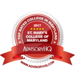 St. Mary's College Only Public College included in AdvisoryHQ Best Colleges in Maryland Ranking