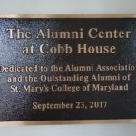 St. Mary's College of Maryland Dedicates The Alumni Center at Cobb House