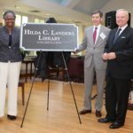 St. Mary's College Board of Trustees Dedicate Hilda C. Landers Library
