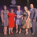 "Dr. Jordan recognized as a ""Woman on the Move"""