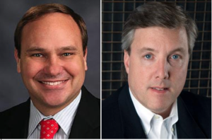 pictured (L-R) State Senator Steve Waugh, Steve McMahon