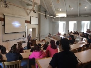 photo of Math Girls Day lecture