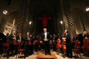 Jeffrey Silberschlag conducting