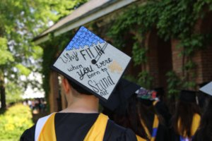Commencement Cap: Why fit in when you can stand out