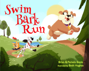 Swim Bark Run book cover art
