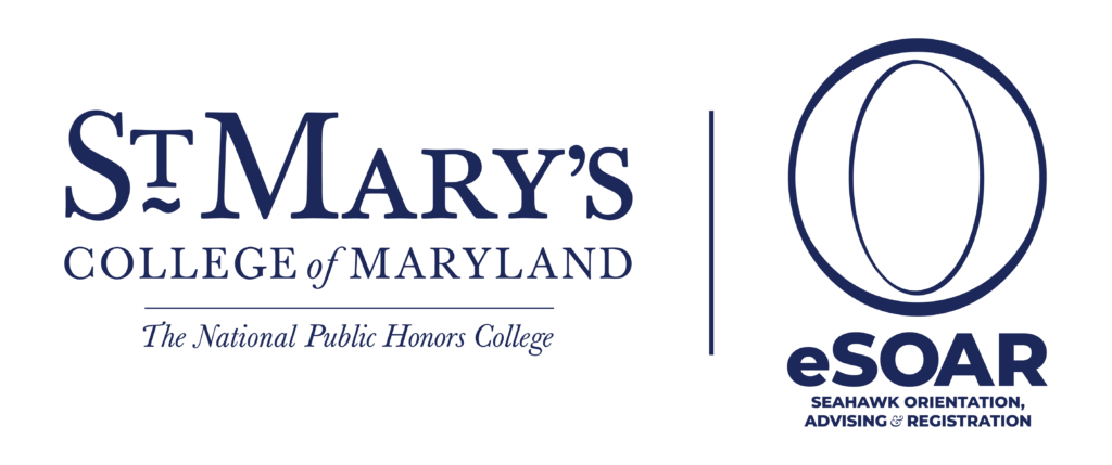 St. Mary's College of Maryland, The National Public Honors College, eSOAR, Seahawk Orientation, Advising, & Registration