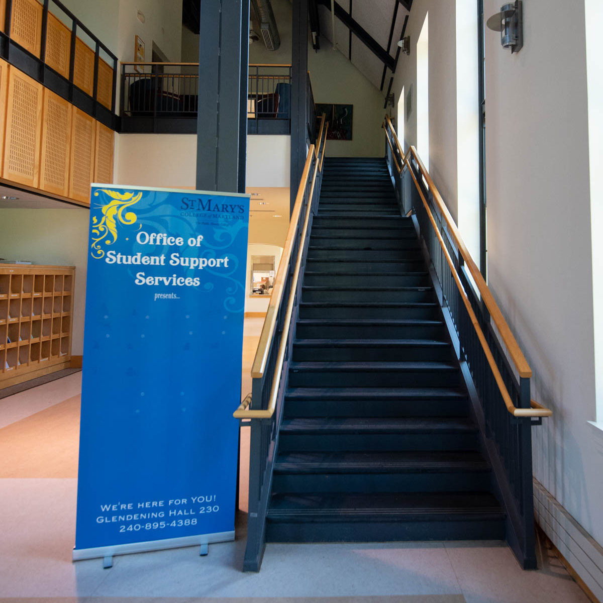 Student Support Services Entrance