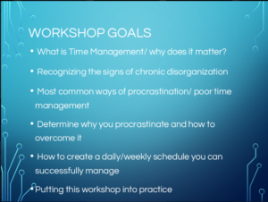 Time Management Strategies - Office of Student Support Services