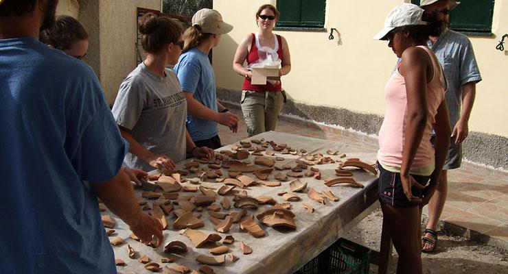 Greece study tour - artifacts