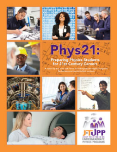 Cover of the Phys21 report