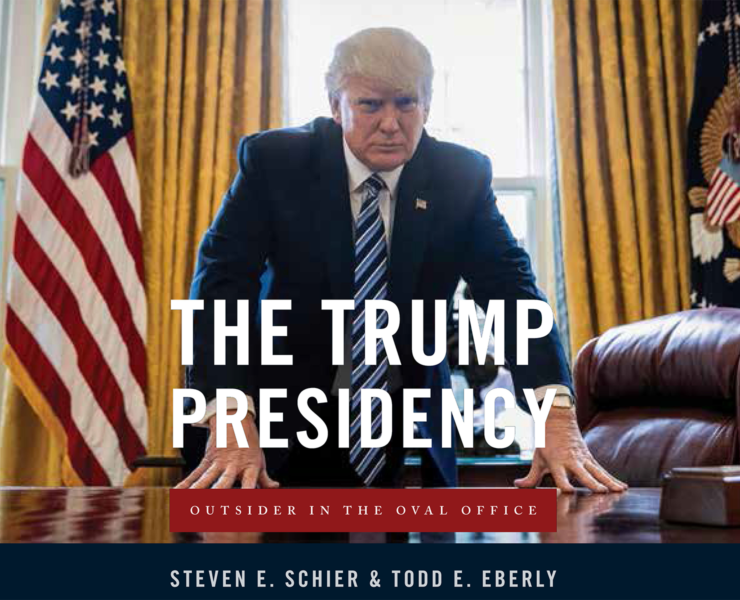 The Trump Presidency – Eberly Book Cover