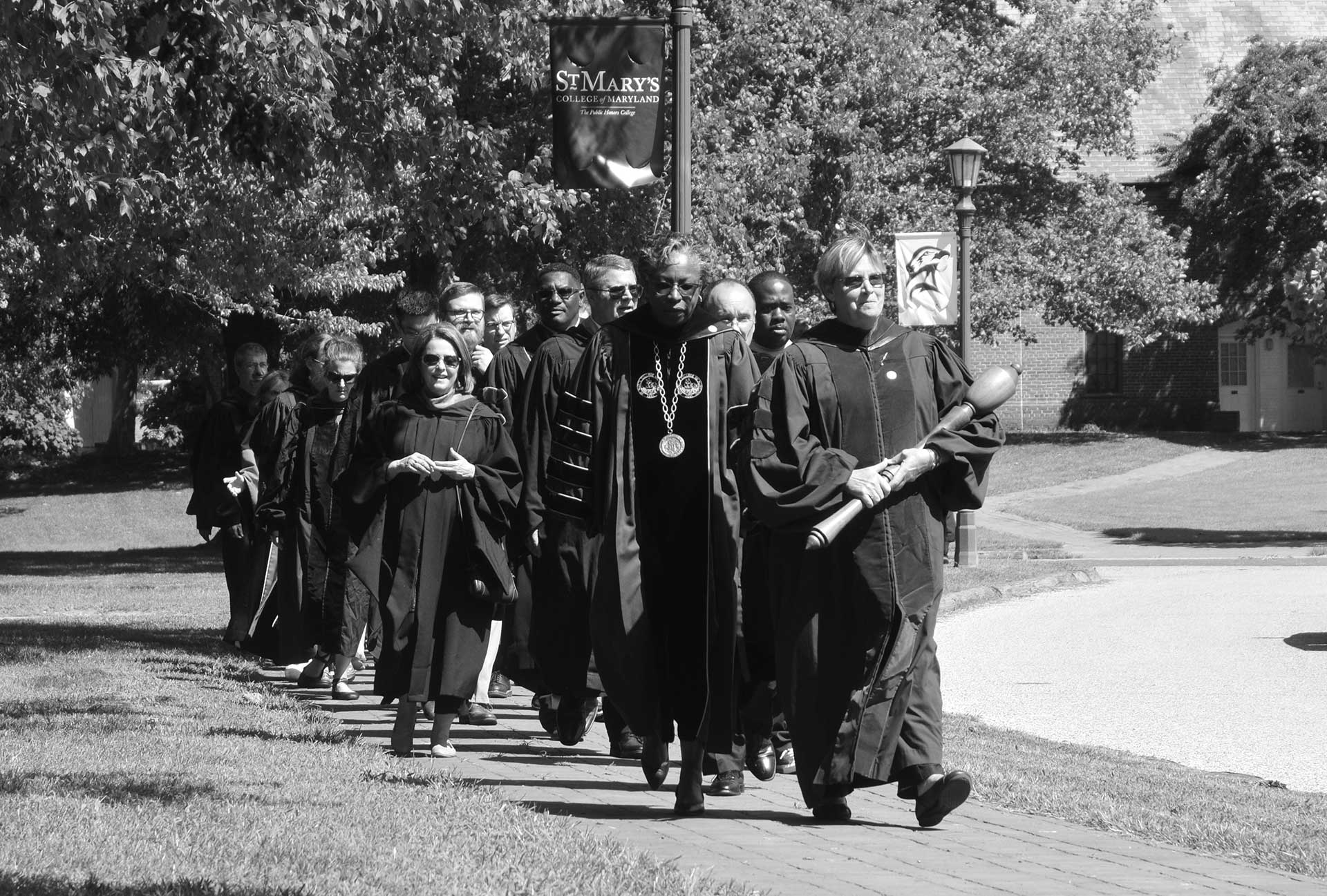SMCM 2018 Convocation, Faculty Procession, Photo by Richard-Brewer