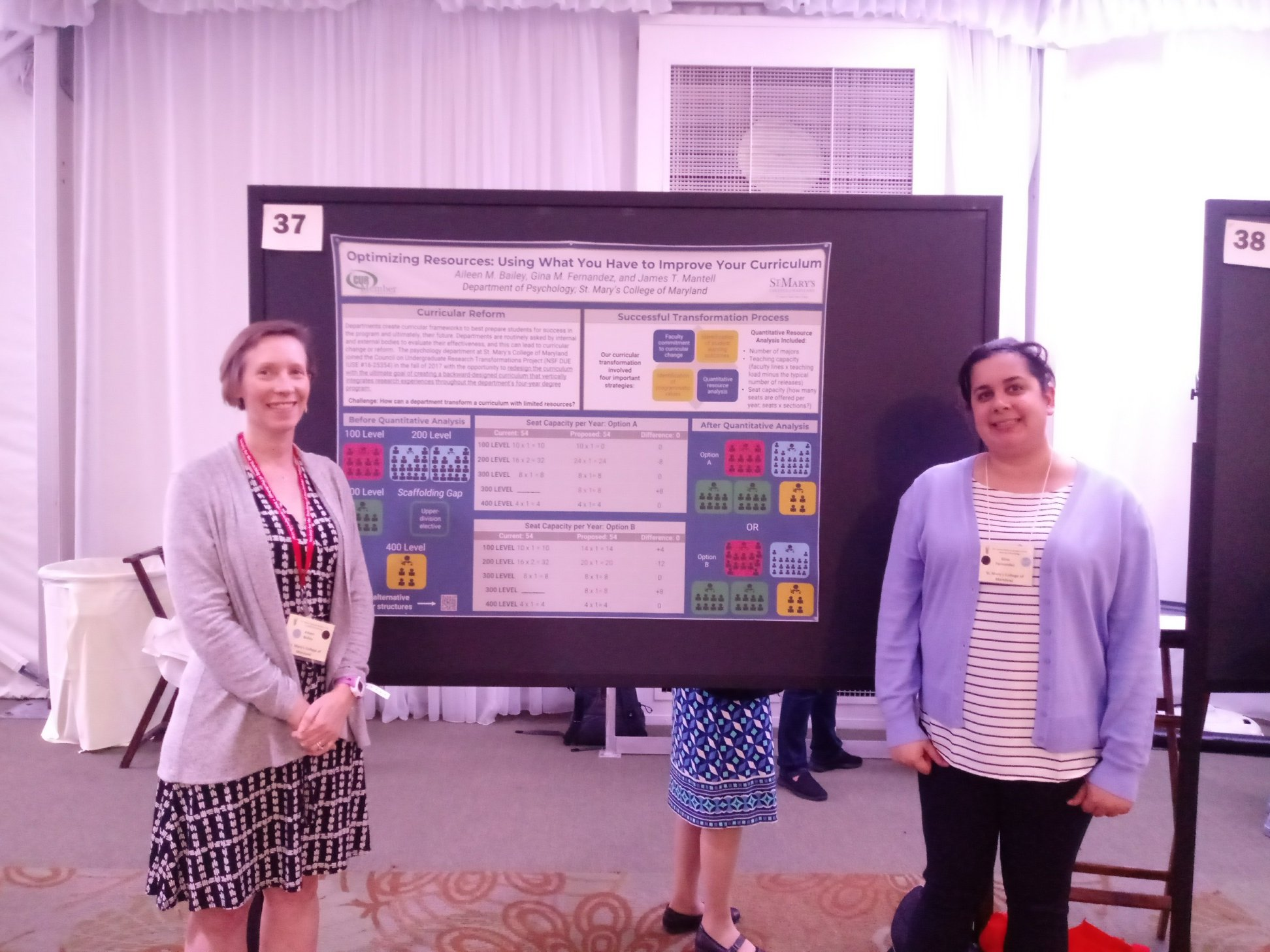 Bailey and Fernandez Present at National Institute of Teaching Psychology Conference