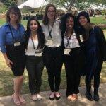 Katie Gross, Alejandra Diaz, Rachel Yates, Alana Demones, and Katherine Kempton