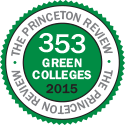The Princeton Review - 353 Green Colleges 2015