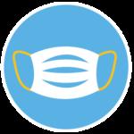 Community Health & Safety mask icon
