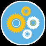 Facilities gears icon