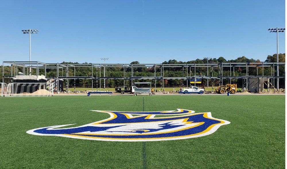 Construction on the Stadium