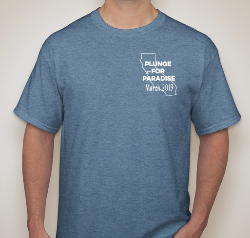 front of Polar bear plunge t-shirt