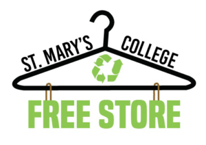Free Store Logo wire hanger