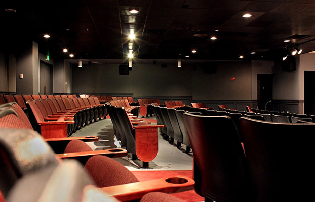 An image of the cole theater seats at SMCM.