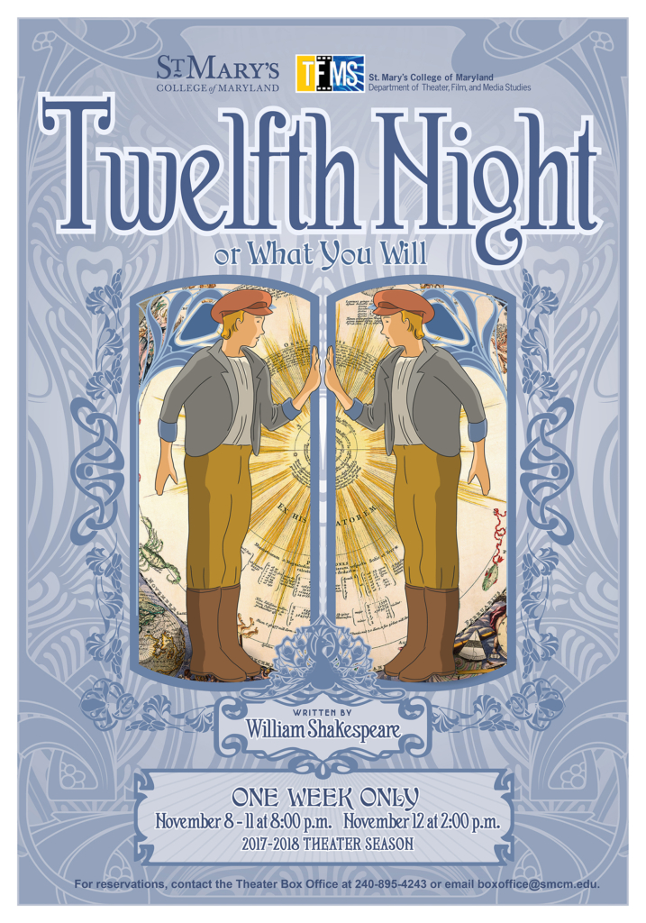 poster of the Twelfth Night Play
