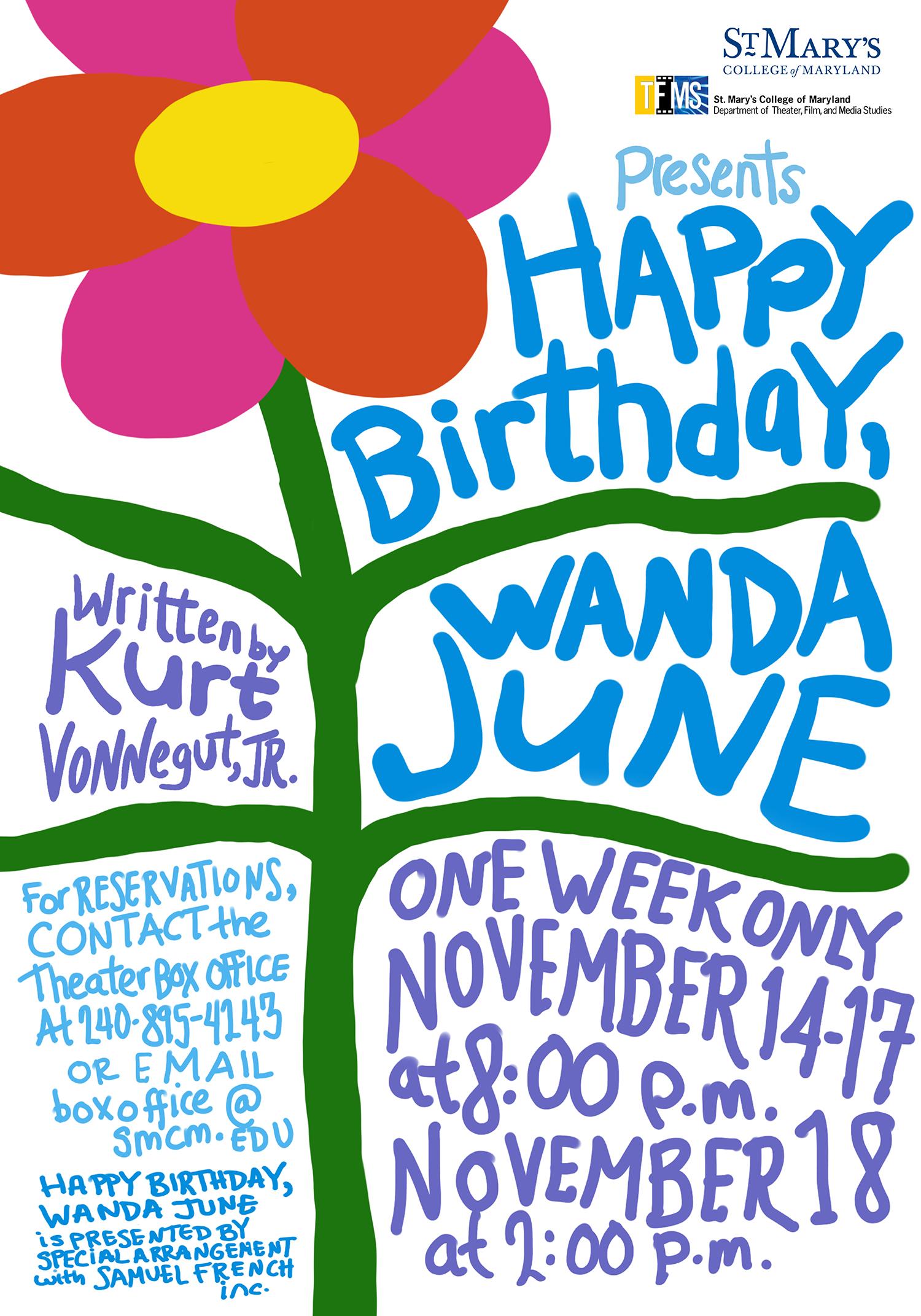 Wanda June poster