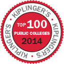 Kiplinger's Top 100 Public Colleges 2014