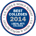 U.S. News and World Report - Best Liberal Arts Colleges 2014