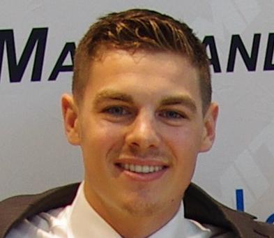 Ryan Grant Alumni year 2017
